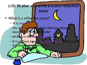 Reflective Essay Writing