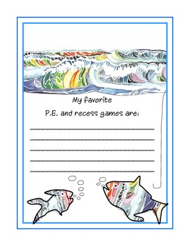 Reflective Journal  Fishing for Favorites School Notables