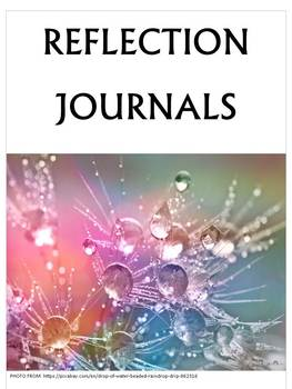 Reflective Journal Writing Prompts - FULLY EDITABLE