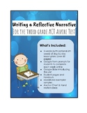 Reflective Narrative Unit for 3rd Grade ACT Aspire