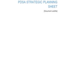 Reflective  Planning Sheet