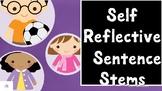 Reflective Sentence Stems