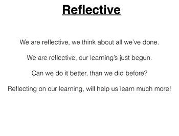 Reflective Song