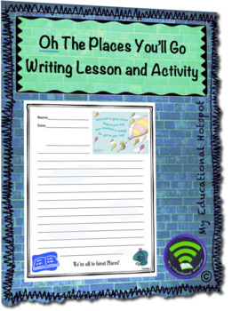 Reflective Writing Lesson Inspired by Dr Seuss's  Oh The Places You'll Go