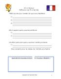 Réflexion de fin d'année - classe de français - end of yea