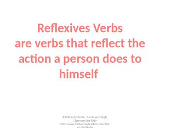 Reflexive Conjugation
