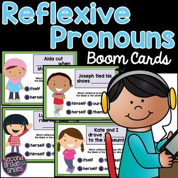 Reflexive Pronoun Boom Cards