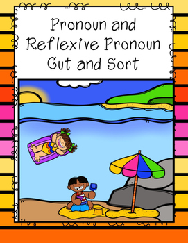 Reflexive Pronoun Cut and Sort