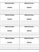 Reflexive Pronoun Foldable - Grammar Journal/Notebook