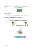 Reflexive Pronoun Practice