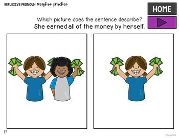 Reflexive Pronoun Practice: No Print Required