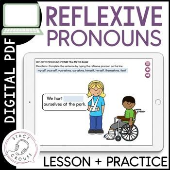 Reflexive Pronoun Practice: No Print Required