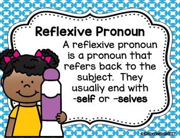 Reflexive Pronoun SCOOT and Grab & Dab