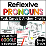 Reflexive Pronouns Activities | Reflexive Pronouns Task Cards and Anchor Charts