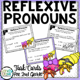 Reflexive Pronoun Task Cards for 2nd Grade Grammar Centers