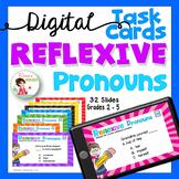 Reflexive Pronouns - Digital Task Cards for Google Drive