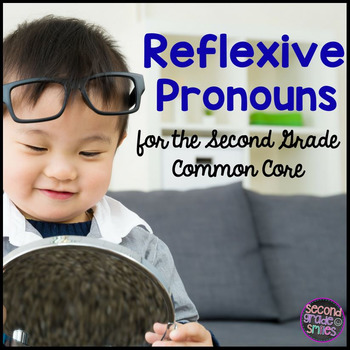 Reflexive Pronouns Task Cards, Game, Printables, & More