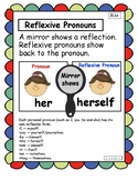 Reflexive Pronouns Anchor Chart and Interactive Notebook
