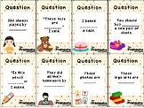 Reflexive Pronouns Card Game