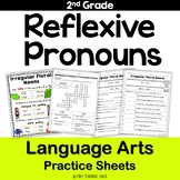 Reflexive Pronouns NO PREP Practice Sheets Practice Sheets