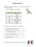 Reflexive Pronouns ESL Mini Lesson (Student Version)