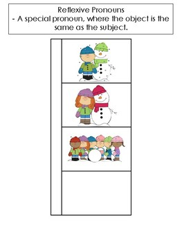 Reflexive Pronouns - Interactive Notebook