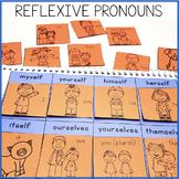 Reflexive Pronouns Interactive Notebook