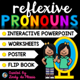 Reflexive Pronouns PowerPoint and Worksheets for 1st, 2nd, and 3rd grade