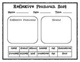Reflexive Pronouns/ Regular Pronouns Word Sorts {Common Core}