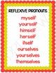 Reflexive Pronouns Task Cards