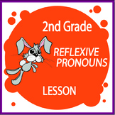 Reflexive Pronouns Activities + Lesson, Poster, Reflexive Pronouns Worksheet