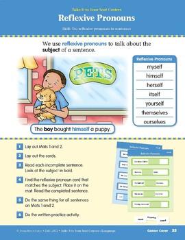 Reflexive Pronouns (Take It to Your Seat Centers: Common Core Language)