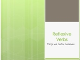 Spanish Reflexive Verb Notes