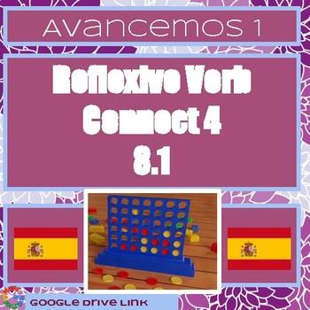Reflexive Verb Connect 4