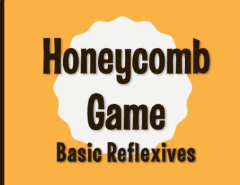 Spanish Reflexive Verb Honeycomb Partner Game