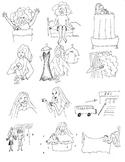Reflexive Verb Illustrations