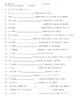 Reflexive Verb Practive Worksheet with quiz
