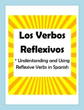 Reflexive Verb Unit Packet