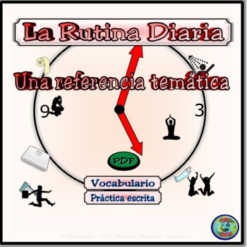 Reflexive Verb Thematic Vocabulary Reference