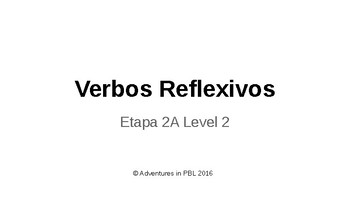 Reflexive Verb notes