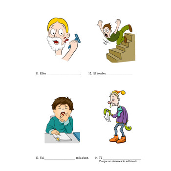 Reflexive Verbs Activities and TPR Story for Spanish Two and Three