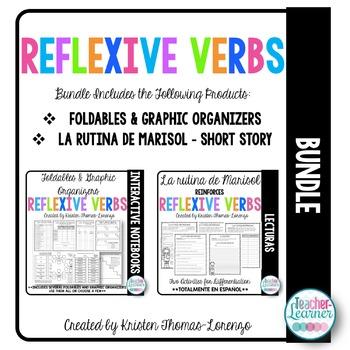 Reflexive Verbs Activity Bundle - Los verbs reflexivos