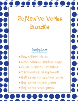 Reflexive Verbs Bundle