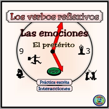 Reflexive Verbs: Emotions and Reactions Fill-in Worksheets - El pretérito