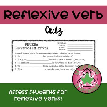 Reflexive Verbs Quiz