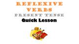 Reflexive Verbs, Reflexive Pronouns in Spanish (Present Te