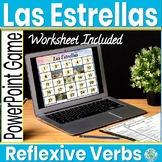Spanish Reflexive Verbs Game - Spanish Game and Worksheet