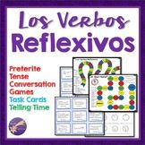 Reflexive Verbs, Spanish, Preterite Tense, Conversation, G