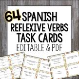 Reflexive Verbs Spanish Task Cards Los verbos reflexivos