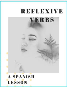 Reflexive Verbs Worksheet Lesson (Spanish)